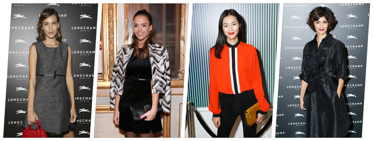 Celebrities-Longchamp