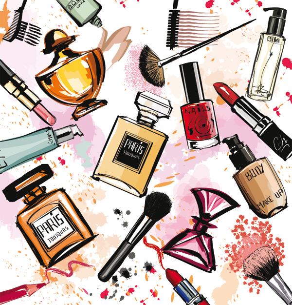 Fragancias y cosméticos.