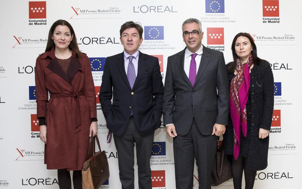 L'Oréal premiada por sus políticas de igualdad.