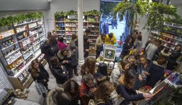 The Body Shop en la Puerta del Sol.