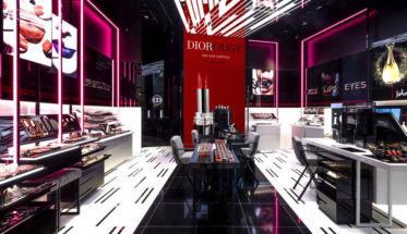 Boutique de maquillaje Dior en Nueva York.