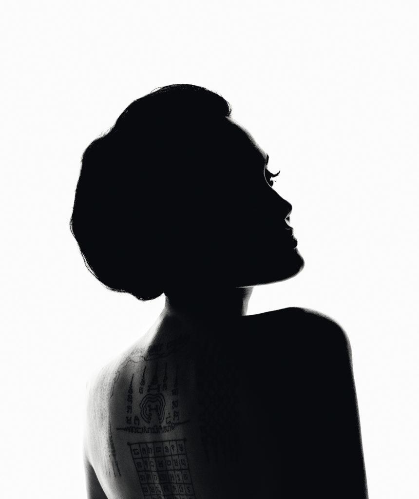 Angelina Jolie, imagen de Guerlain.