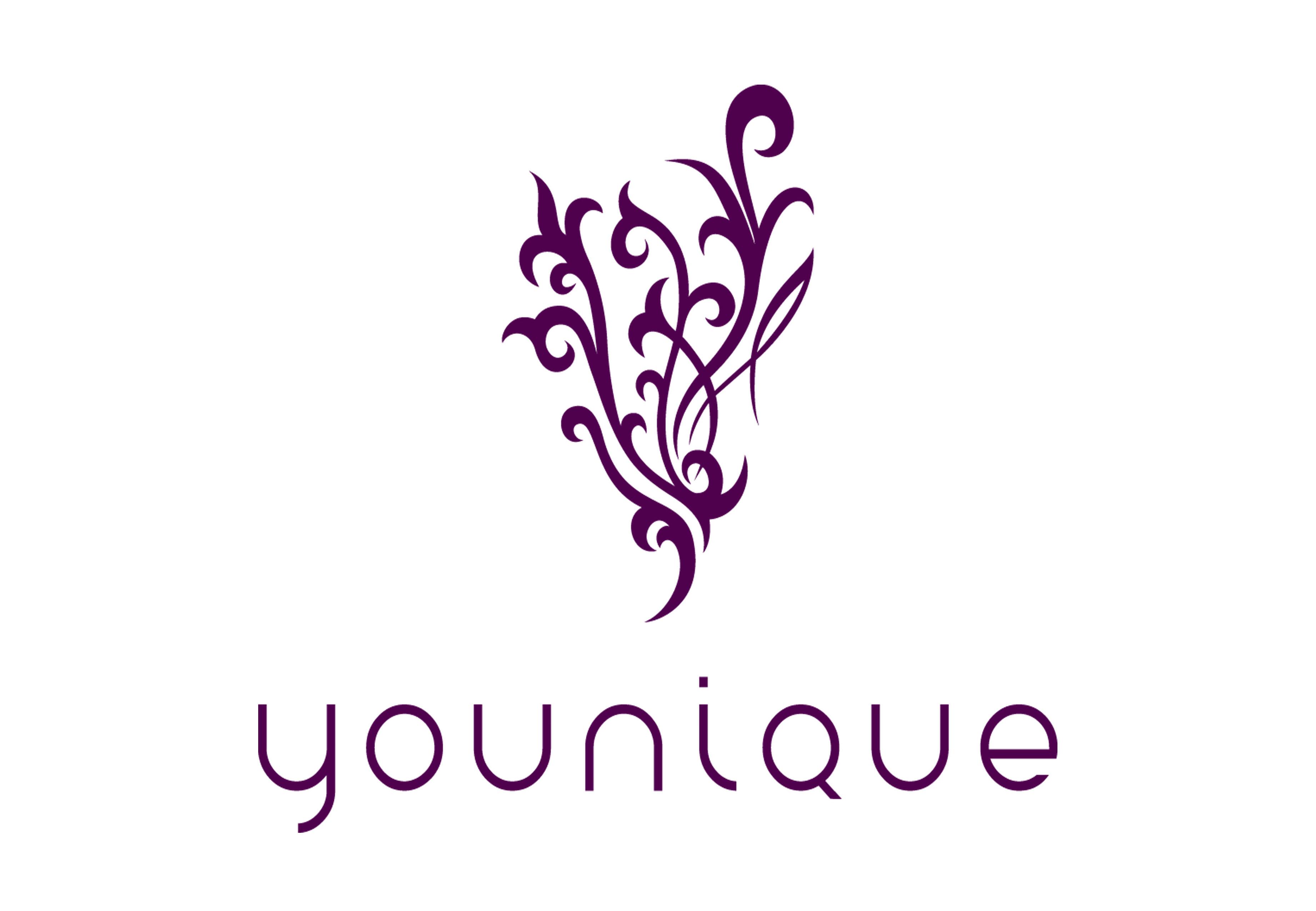 Younique logo.