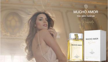Dulceida presenta su perfume Mucho Amor.