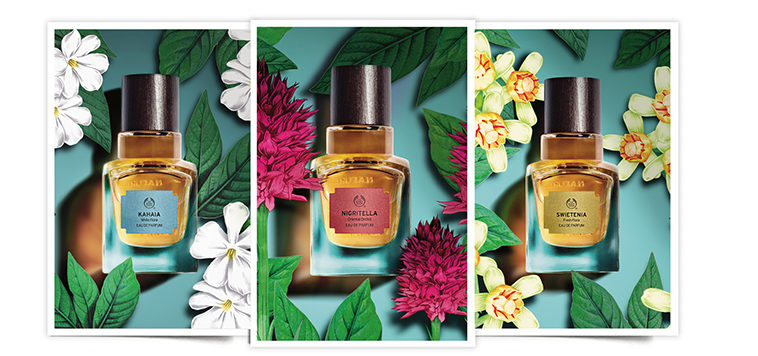 The Body Shop, Elixirs of Nature, colección de 5 perfumes