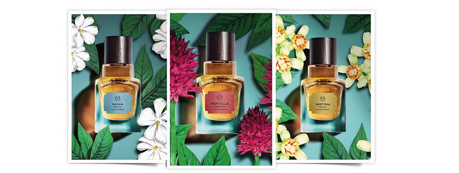 The Body Shop, Elixirs of Nature, colección de 5 perfumes
