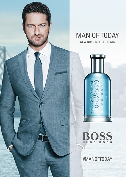 Boss Bottled, Hugo Boss. Visual con Gerard Butler