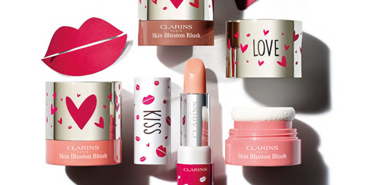 Kiss & Love Clarins, Joli Baume Eclat du Jour & Skin Illusion Blush