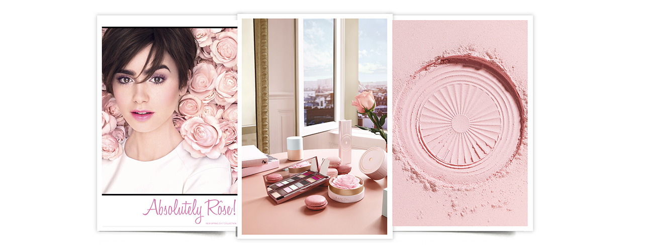 Absolutely Rôse!, de Lancôme. Lancôme Absolutely Rôse, colección de maquillaje de primavera 2017