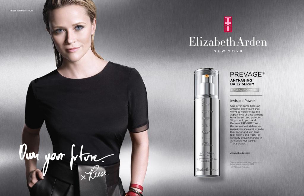 Publicidad de Prevage con Reese Witherspoon.