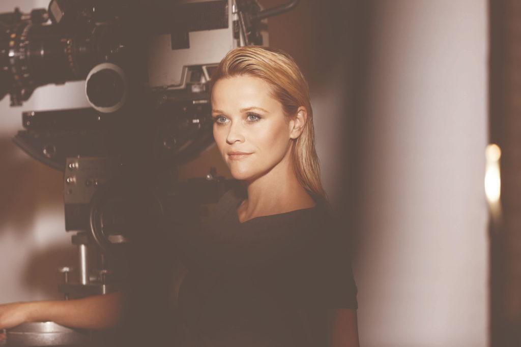 La actriz Reese Witherspoon en una sesión para Elizabeth Arden.