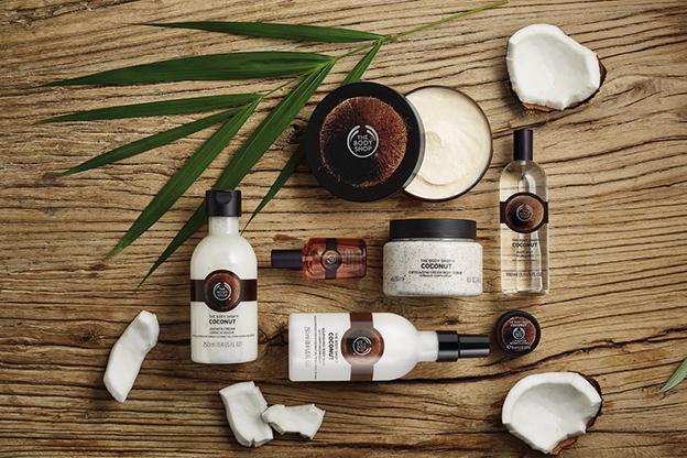 The Body Shop línea de coco