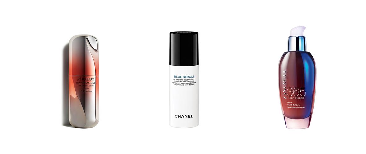 5 sérums que perfeccionan las pieles maduras. Nuevos Sérum: Shiseido, Chanel y Lancaster