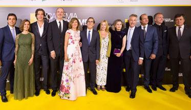 Patronato Academia del Perfume, en la gala de 2017.