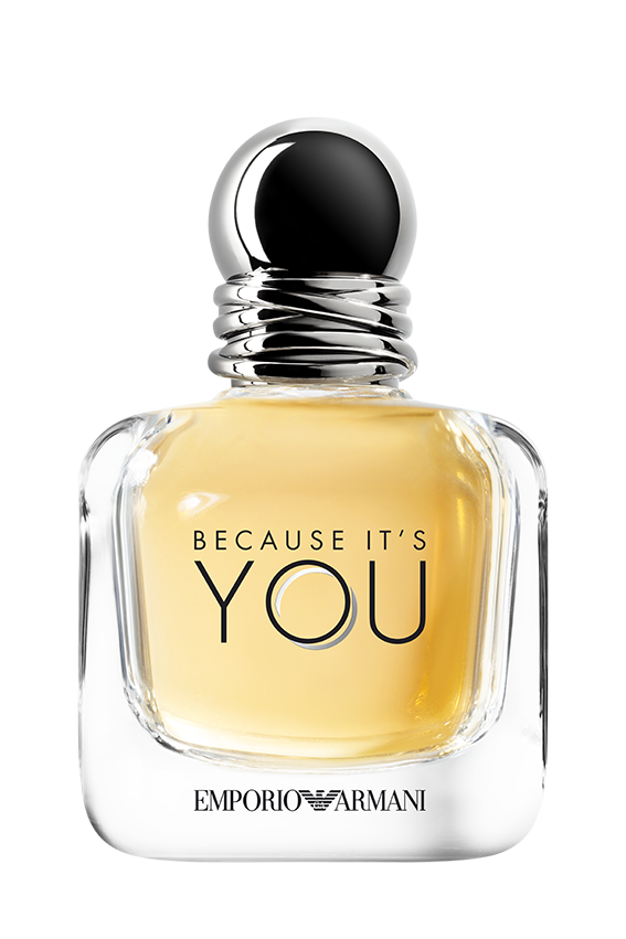 Because It's You es la fragancia femenina de Armani You.