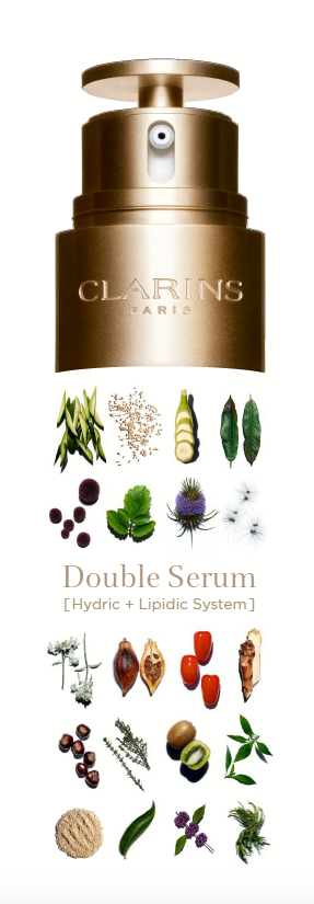 DOUBLE SERUM CLARINS activos vegetales