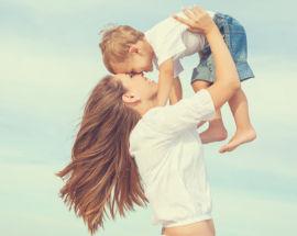 Madre con niño