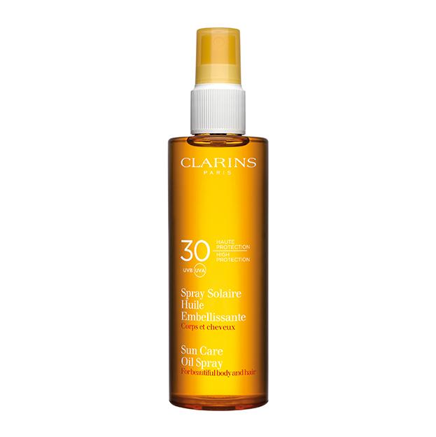 Spray Solaire Huile Embellissante 30 UVA UVB