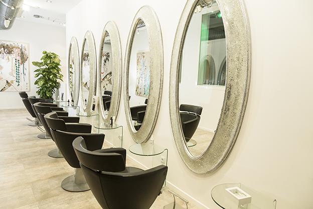 Oliveras Madrid salón peluquería