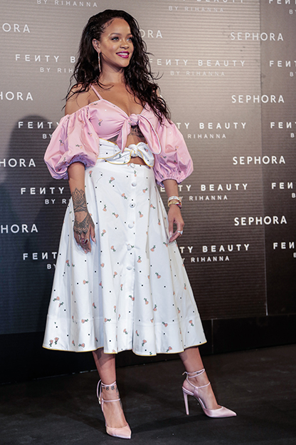 Rihanna Fenty Beauty by Sephora Presentacion in Madrid