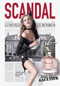 Scandal nuevo perfume Gaultier