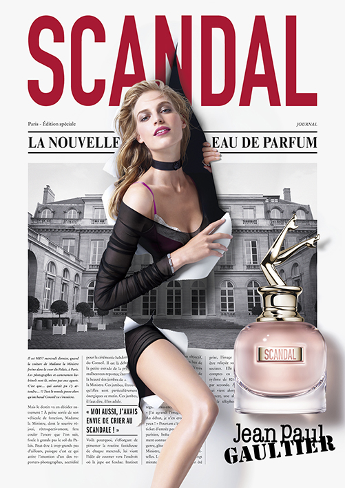 Jean Paul Gaultier Scandal Model