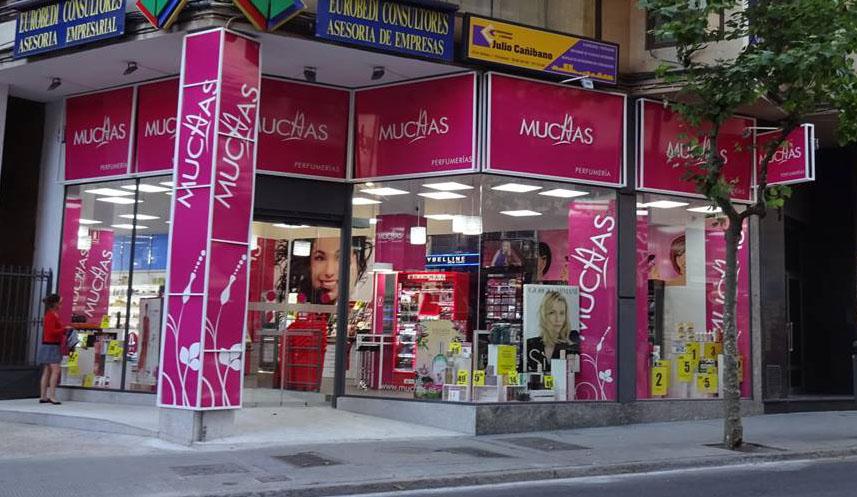 Tienda Muchas en Zamora.