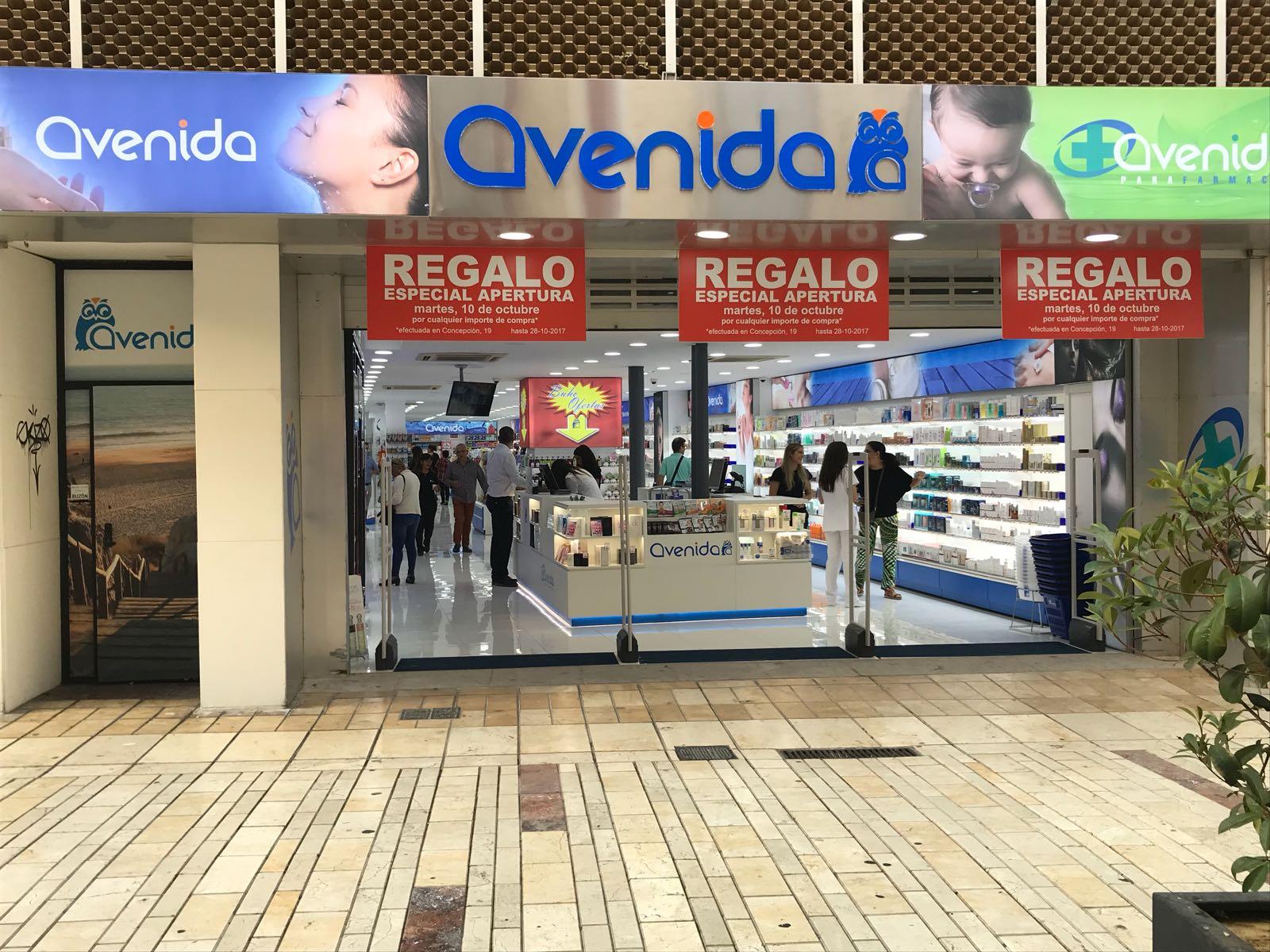 Perfumería Avenida en Huelva.
