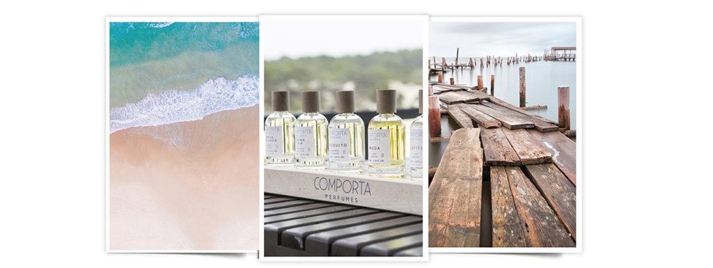 Comporta Perfumes, colección de perfumes