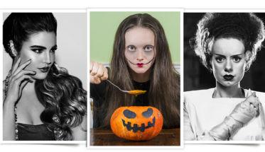Halloween 3 looks maquillaje calabaza