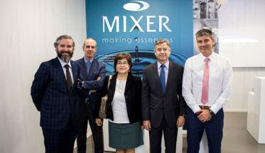 MIXER PACK VISITADA POR LA DIRECCIÓN GENERAL DE INDUSTRIA.