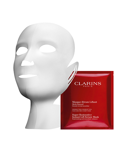 Clarins Masque Serum Liffant mascarilla textil