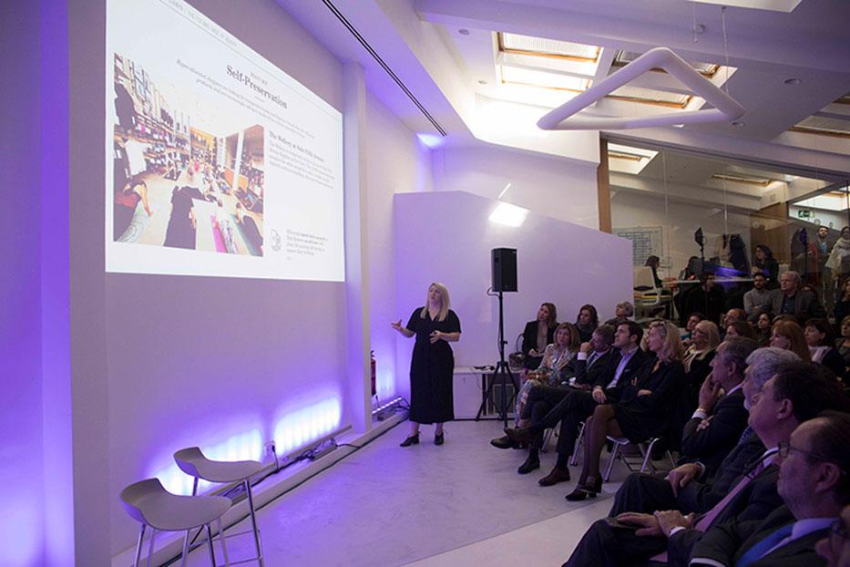 Ponencia sobre tendencias de The Future Laboratory en la inauguración de la nueva sede de Stanpa.