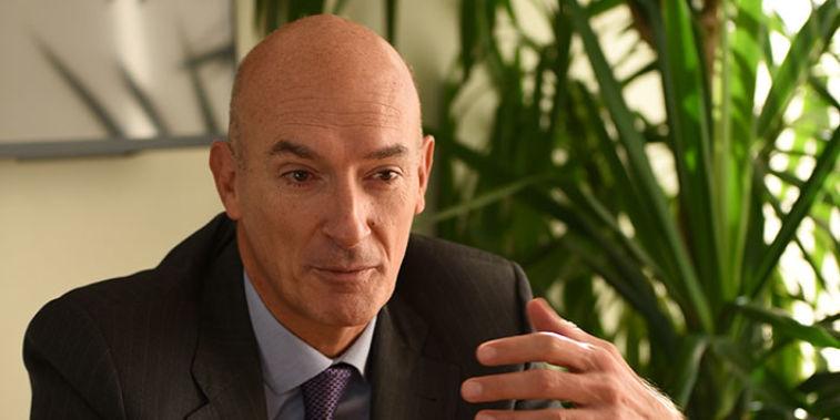 Julio Quiroga, director general de Clarins España.