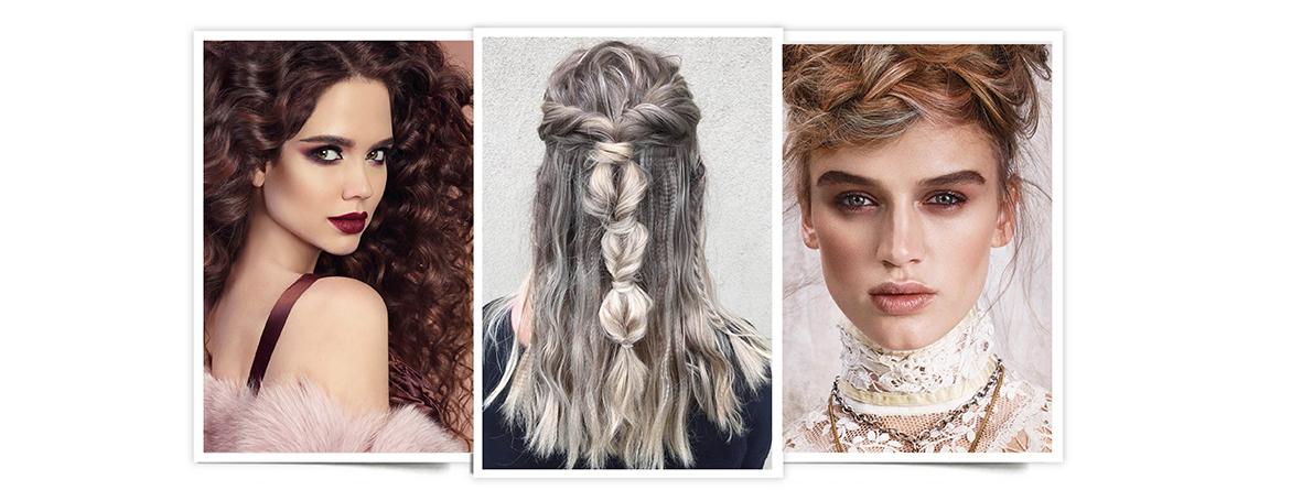 Tendencias peinados Navidad 2017: cabello rizado, trenza, recogido: peinados bonitos y súper fáciles.