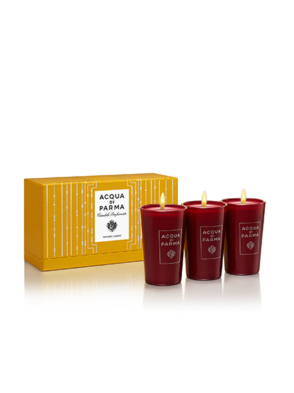 Acqua di Parma Velas Xmas Glass Candles
