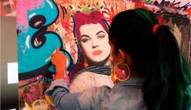 La artista neoyorkina Indie184, fichada por Rimmel.