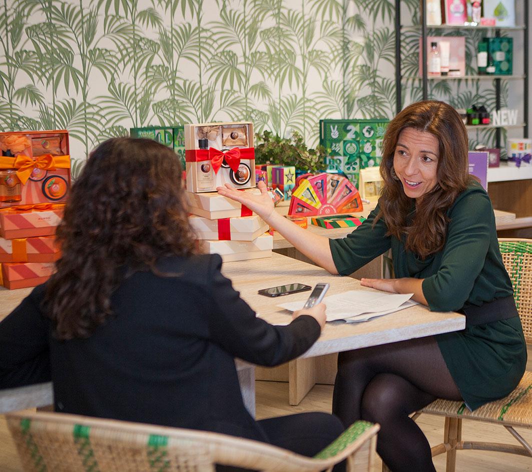 Sonia López, directora de The Body Shop.