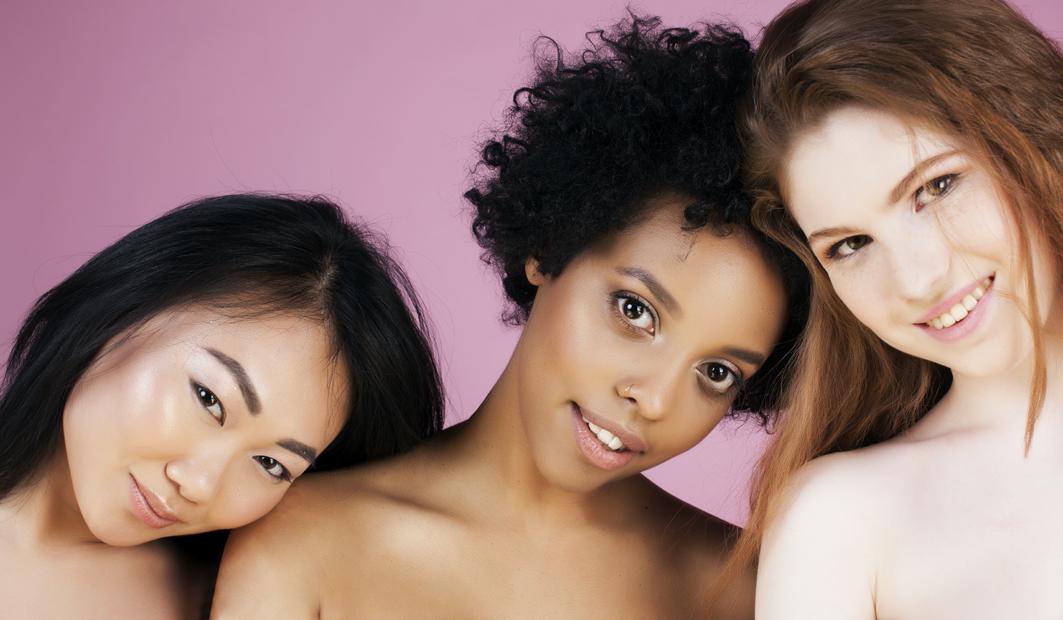 chicas belleza diversa e inclusiva