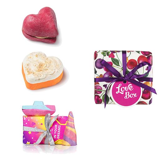 En Lush vas a encontrar muchas sorpresas para celebrar el día de San Valentín.