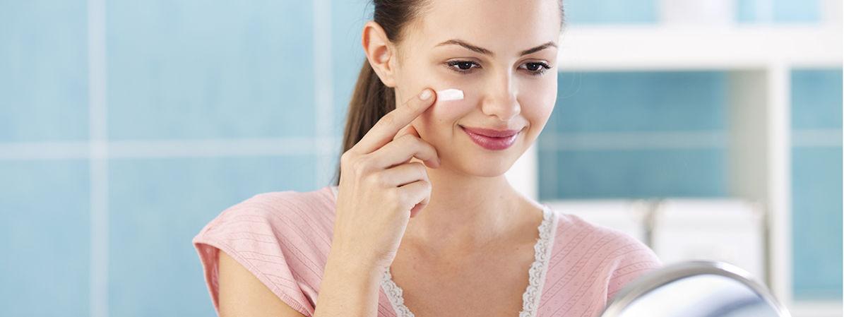 Cuidado facial piel joven