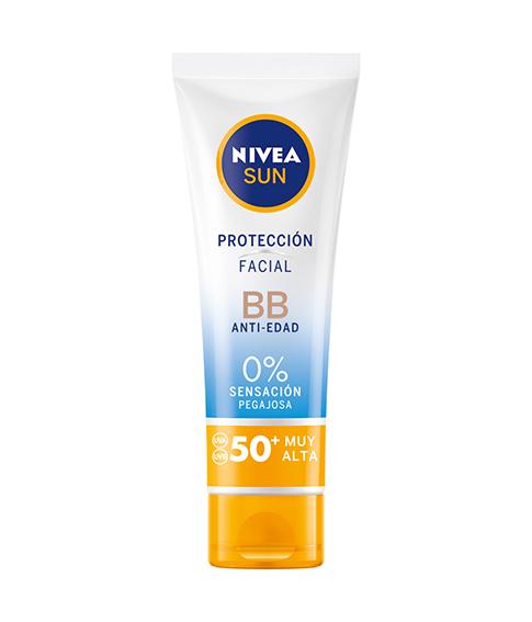 Nivea Sun Protección Facial UV BB anti-edad FP 50+
