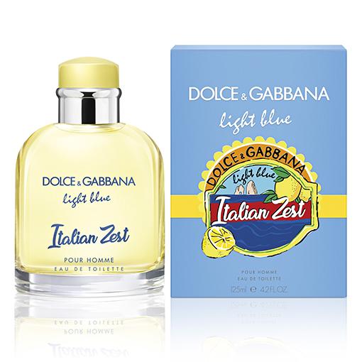Light Blue Italian Zest Pour Homme, de Dolce & Gabbana