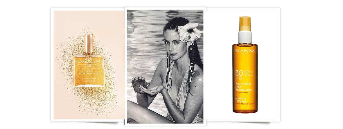 Aceites verano: Leonor Grey, Clarins