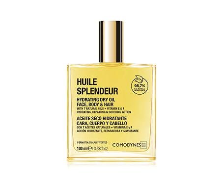 Aceite seco para rostro, cuerpo y cabello, de Comodynes.