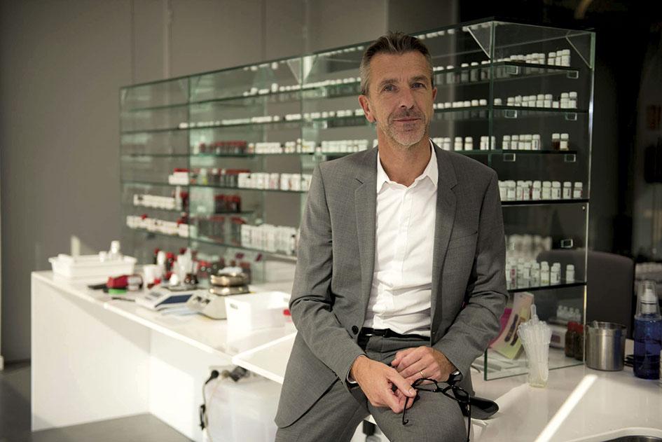 Laurent Mercier, consejero delegado de Eurofragance.