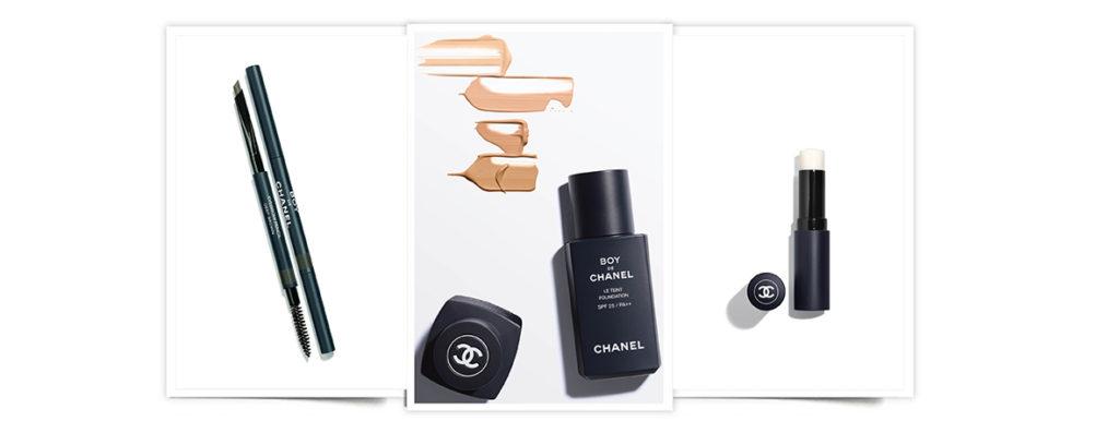 Chanel Boy, línea de maquillaje para hombre
