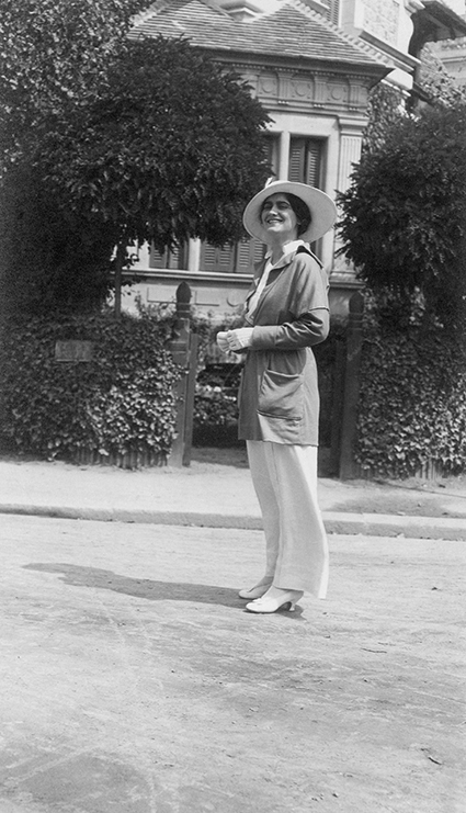 Gabrielle Chanel in Deauville