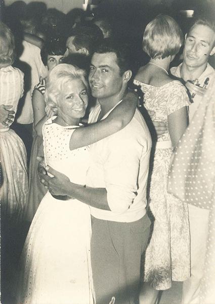 Leonor Greyl con su marido