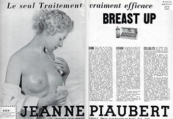 90 Aniversario de Jeanne Piaubert, anuncio vintage